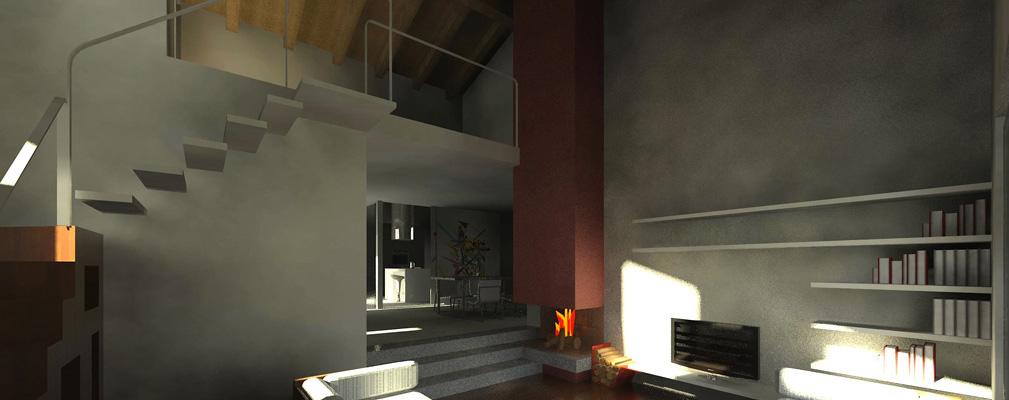 Casa m2 medeaa marchetti e de luca architetti udine - Interior design udine ...