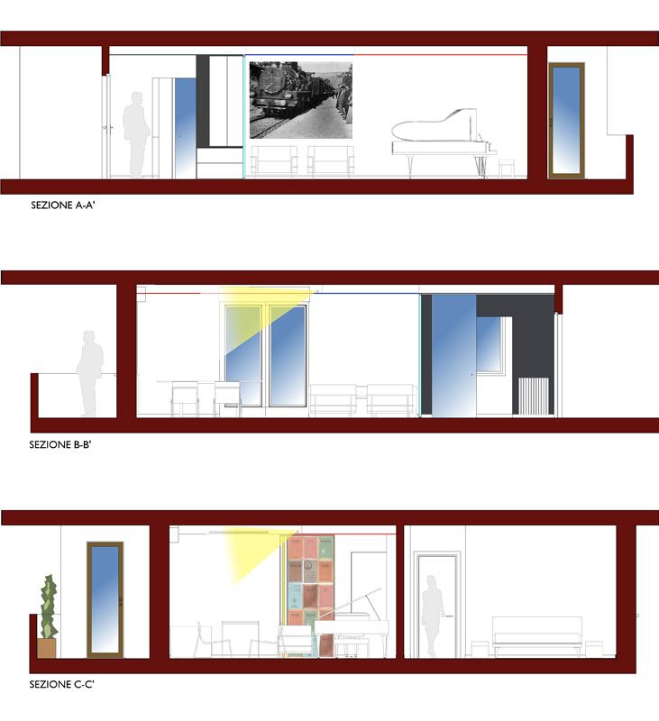 Casa per un musicista medeaa marchetti e de luca - Interior design udine ...