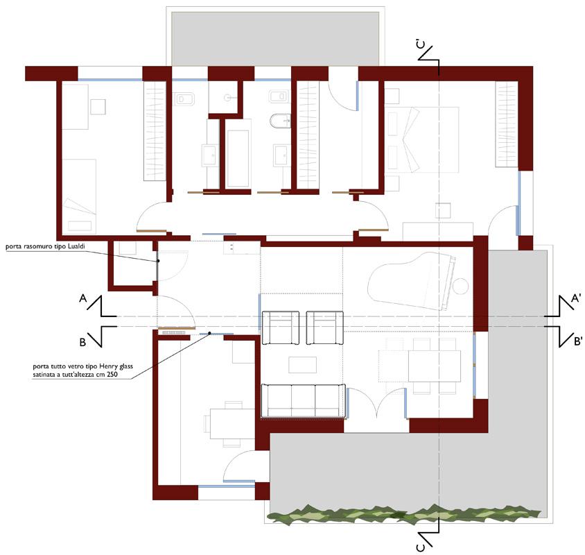 Casa per un musicista medeaa marchetti e de luca for Casa di design di architettura