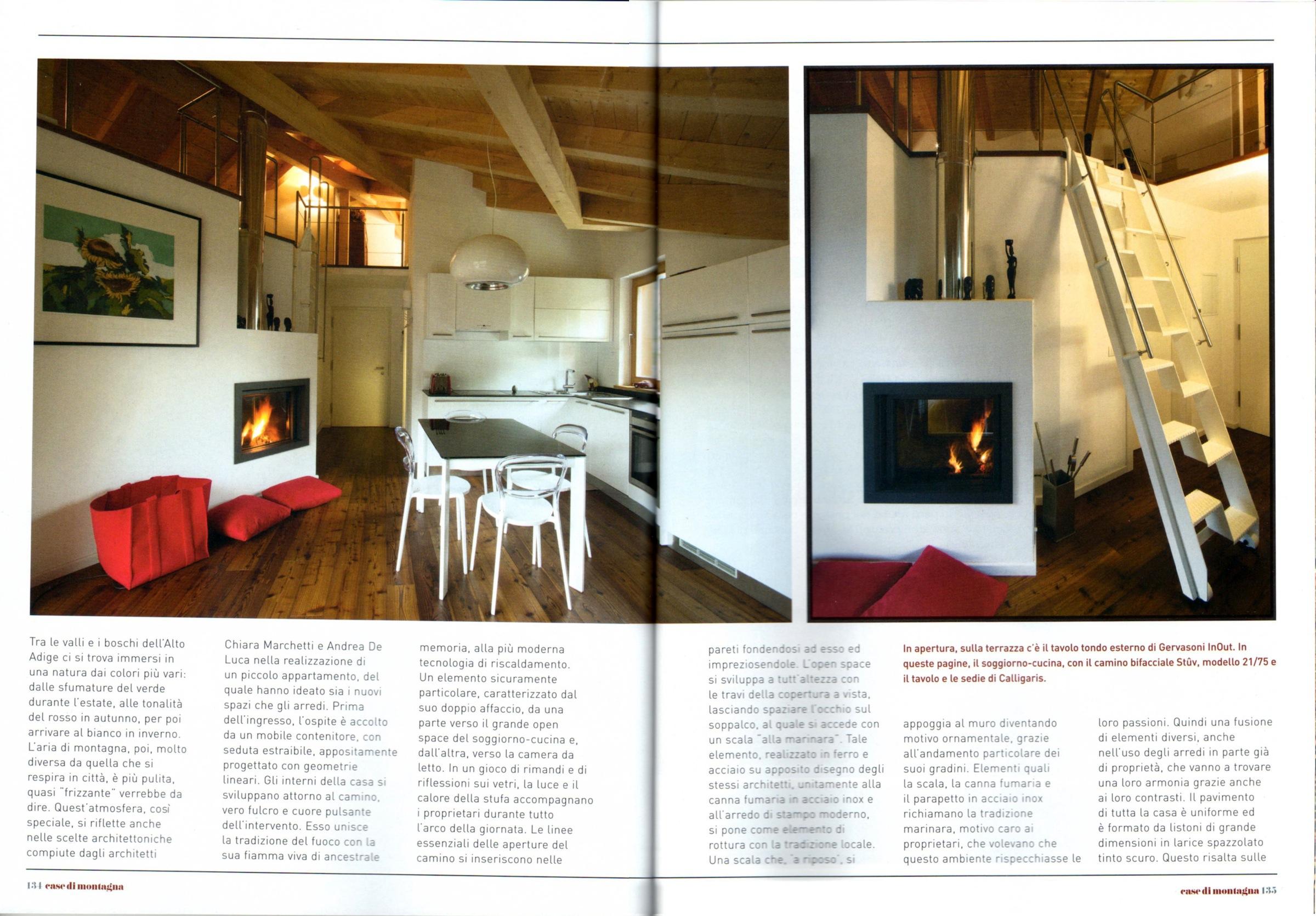 Ville casali medeaa marchetti e de luca architetti udine for Piccole case di montagna
