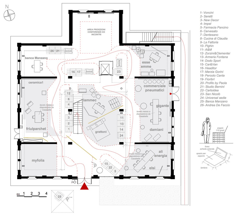 Casa moderna 2015 medeaa marchetti e de luca architetti for Casa moderna pianta